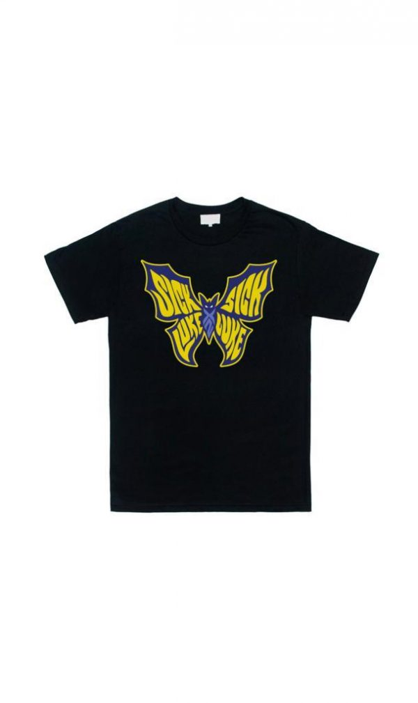 Sick Luke Farfastrello Black T-shirt Official Merchandising