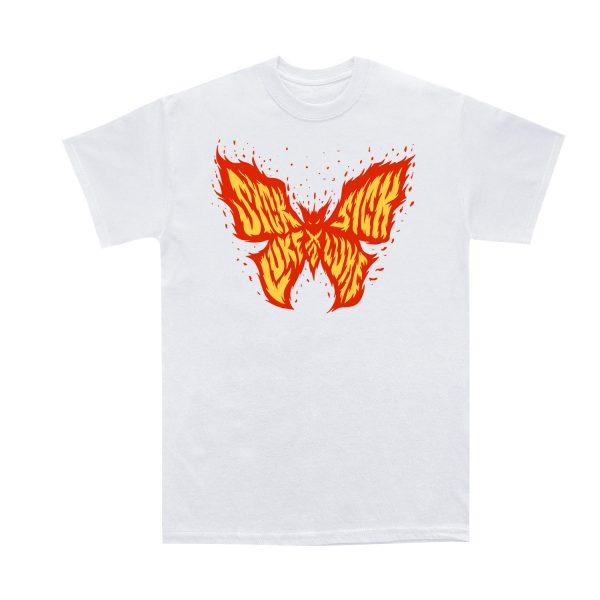 Sick Luke | x2 Farfastrello Fire | White T-shirt